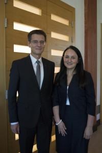 Z rektorjem UM, prof. dr. Zdravkom Kačičem