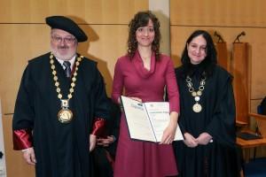 Dr. Verena Rošic, moja prva doktorandka