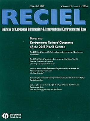 Ecological modernization through servitization in RECIEL