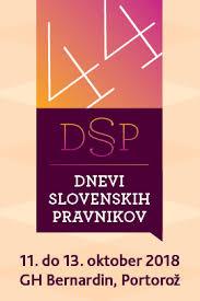 Dnevi slovenskih pravnikov 2018