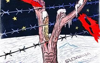 Oprez granica