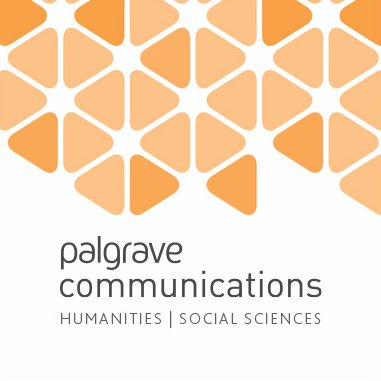 Article in Palgrave Communications, Nature